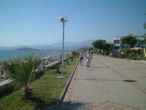Calis Beach Fethiye Promenade